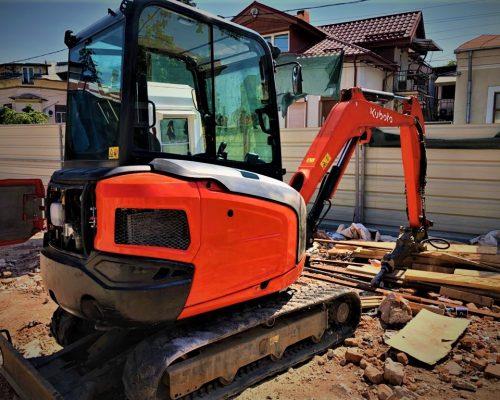 miniexcavator Kubota KX027 2,7 tone