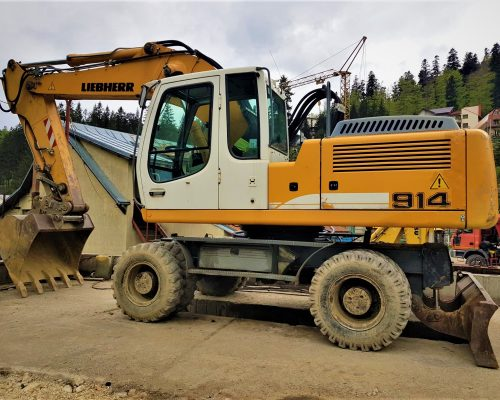 excavator mobil A914