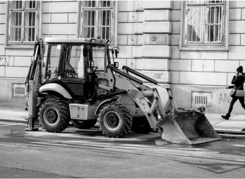 cupa buldoexcavator